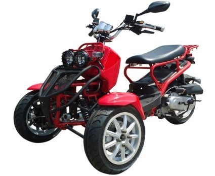 2014 Ice Bearer 50cc Ruckus Style Trike Scooter Moped by SaferWholesale, motorcycle listing