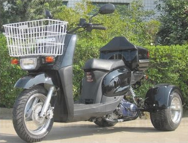 2014 Ice Bearer 50cc Starfire 3 Wheeled Scooter Moped by SaferWholesale, motorcycle listing