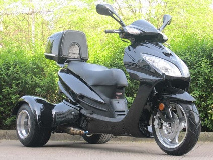 2015 Ice Bear 150cc Eagle Trike Moped Scooter For Sale, motorcycle listing