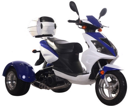 2015 Ice Bear 150cc Gemsbok Air Cooled 4 Stroke Trike Moped Scooter, motorcycle listing