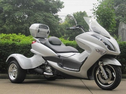 2015 Ice Bear 300cc Tiger Trike Moped Scooter For Sale, motorcycle listing