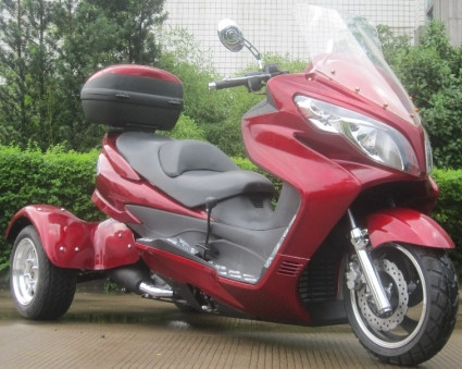 2015 Ice Bear 300cc Tornado Trike Moped Scooter, motorcycle listing