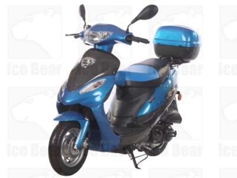 2015 Ice Bear 50cc Moped, motorcycle listing
