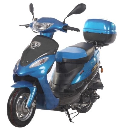 2015 Ice Bear Brand New 50cc Moped Scooter 4 Stroke Maui Dreamer Delu, motorcycle listing