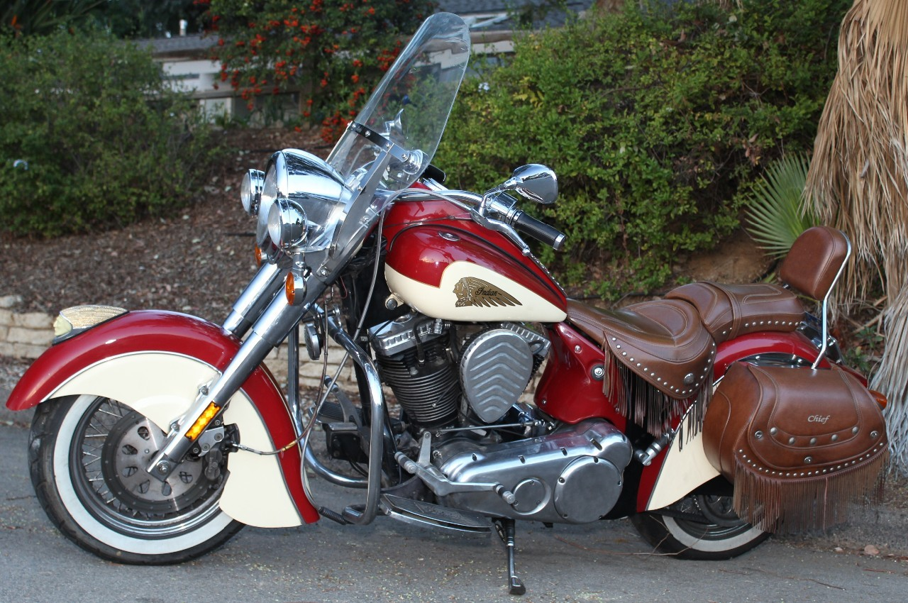 2002 Indian Chief ROAD MASTER, motorcycle listing