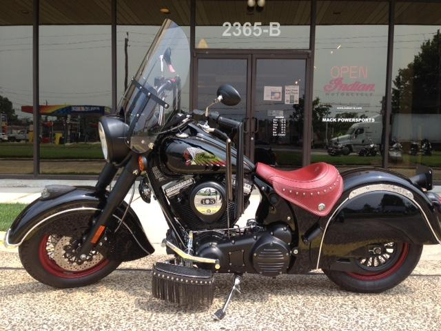 2011 Indian Chief Dark Horse, motorcycle listing