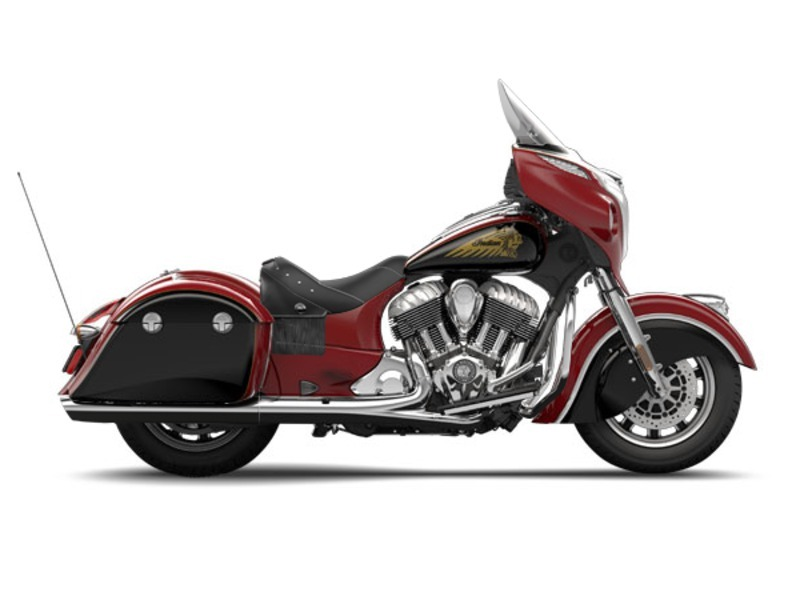 2015 Indian CHIEFTAIN Red/Thunder Black, motorcycle listing