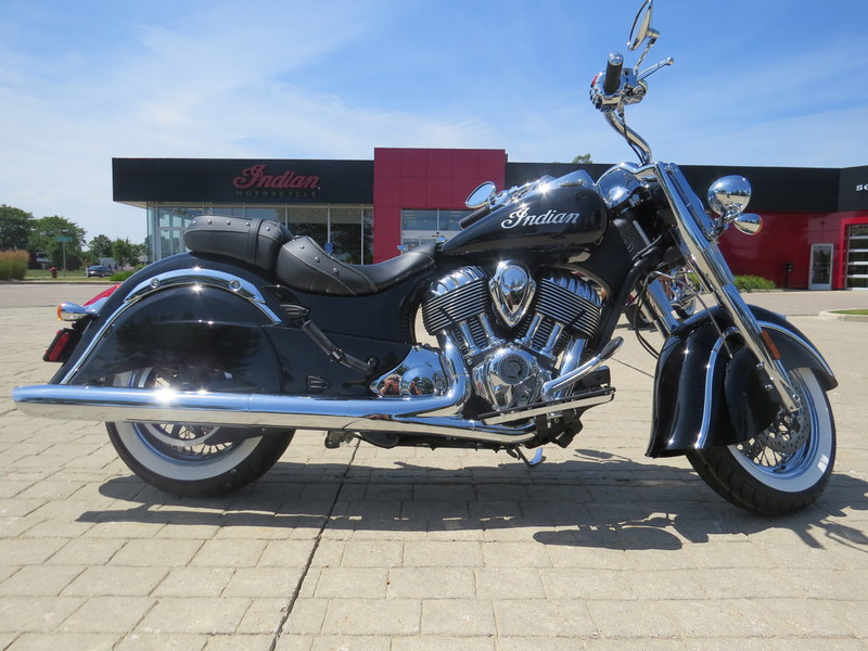 2015 Indian Chief Classic Thunder Black, motorcycle listing