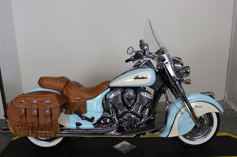 2015 Indian Chief Vintage Blue/White, motorcycle listing