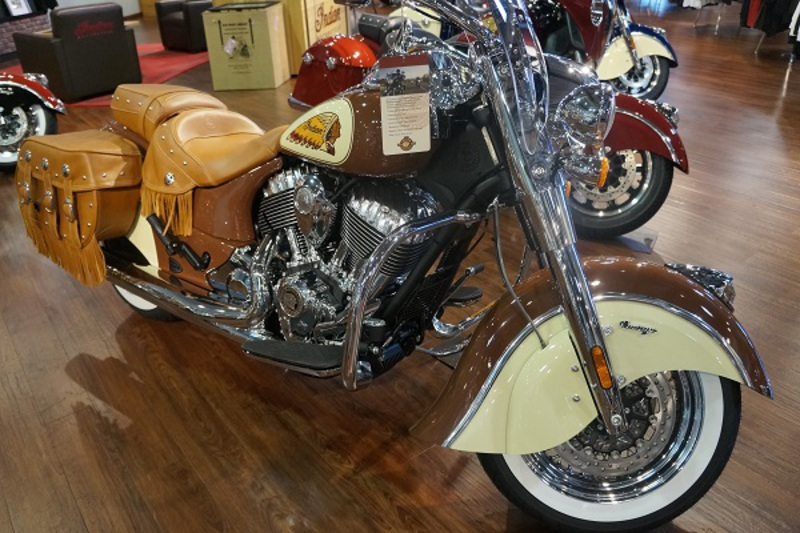 2015 Indian Chief Vintage Brown& Cream, motorcycle listing