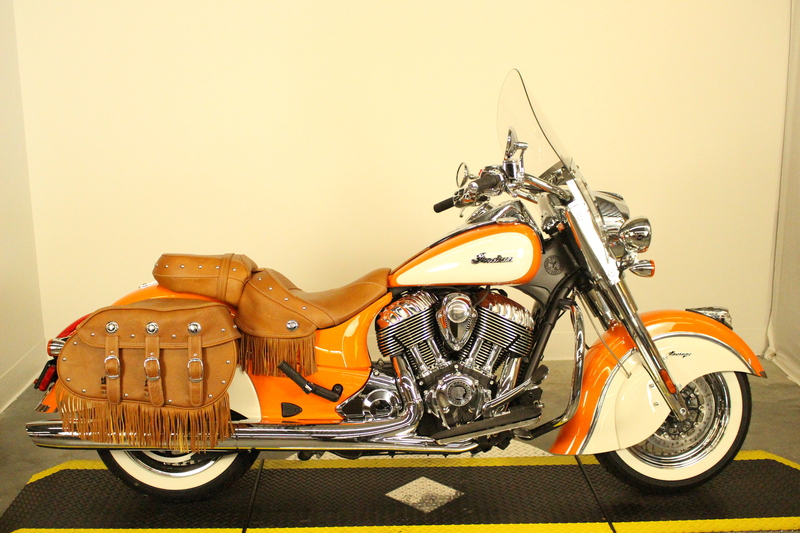 2015 Indian Chief Vintage Indian Orange/Cream, motorcycle listing