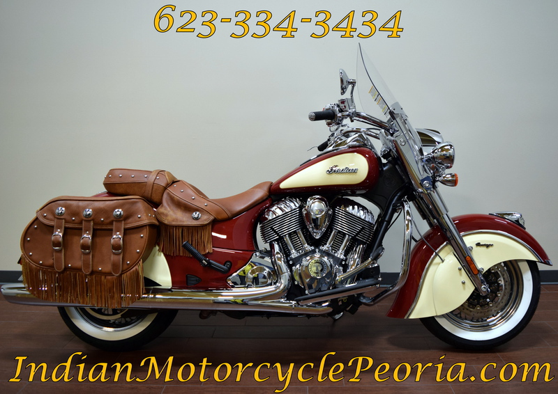 2015 Indian Chief Vintage Indian Red / Ivory Cream, motorcycle listing
