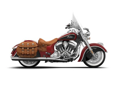 2015 Indian Chief Vintage Indian Red / Thunder Black, motorcycle listing