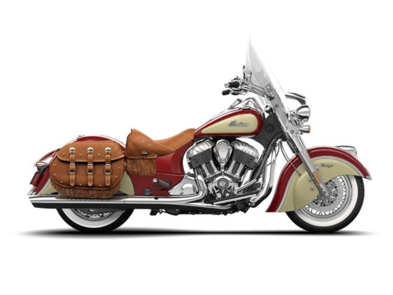 2015 Indian Chief Vintage Red / Ivory Cream, motorcycle listing