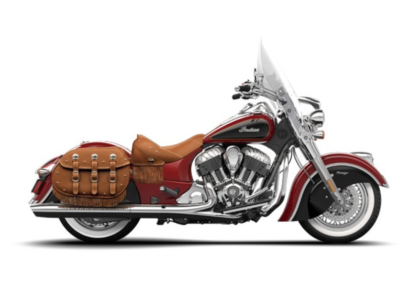 2015 Indian Chief Vintage Red / Thunder Black , motorcycle listing