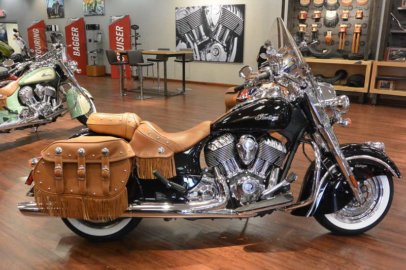 2015 Indian Chief Vintage Thunder Black, motorcycle listing