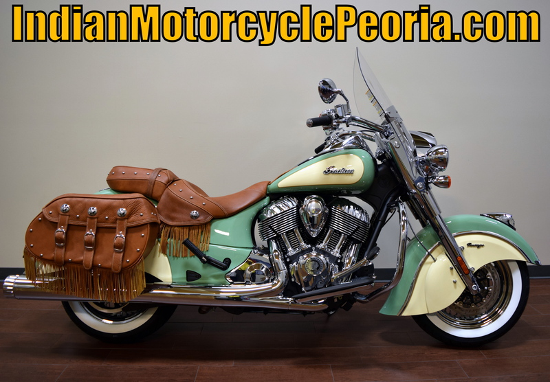 2015 Indian Chief Vintage Willow Green / Ivory Cream, motorcycle listing