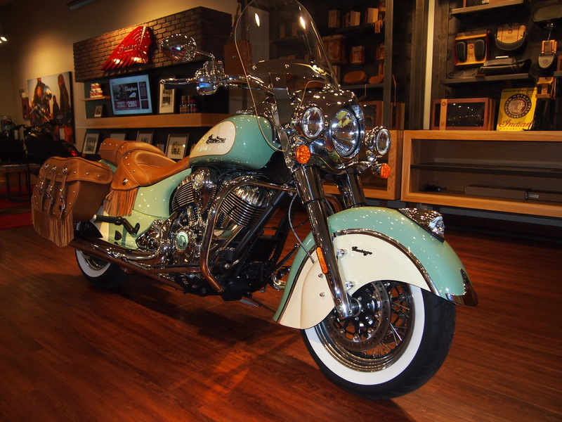 2015 Indian Chief Vintage Willow Green/Ivory Cream, motorcycle listing
