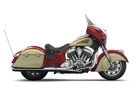 2015 Indian Chieftain Indian Red/Ivory Cream, motorcycle listing