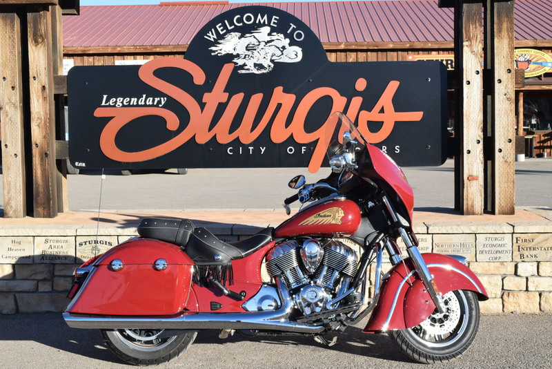 2015 Indian Chieftain Indian Red, motorcycle listing