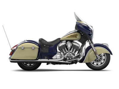 2015 Indian Chieftain Springfield Blue/Ivory Cream, motorcycle listing