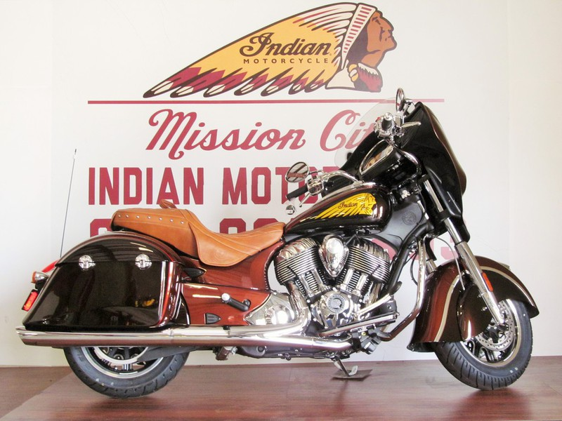 2015 Indian Chieftain Two Tone Light & Dark Root Bee, motorcycle listing