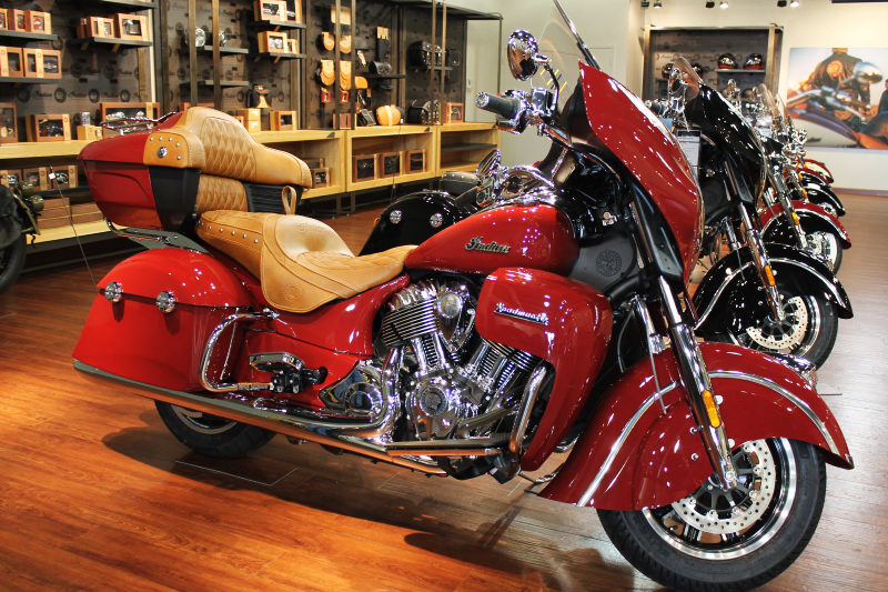 2015 Indian Indian Roadmaster - Indian Red, motorcycle listing