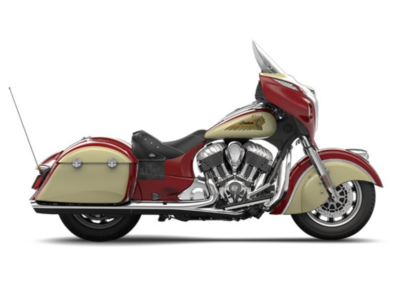2015 Indian Red/Ivory Cream CHIEFTAIN, motorcycle listing