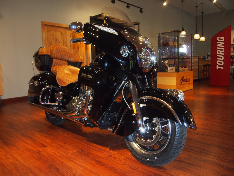 2015 Indian Roadmaster Thunder Black, motorcycle listing
