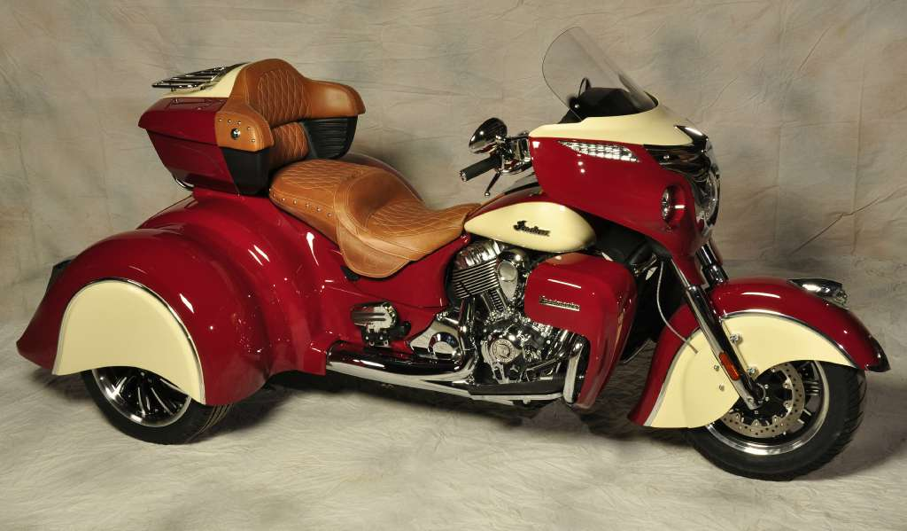 2015 Indian Roadmaster Trike, motorcycle listing