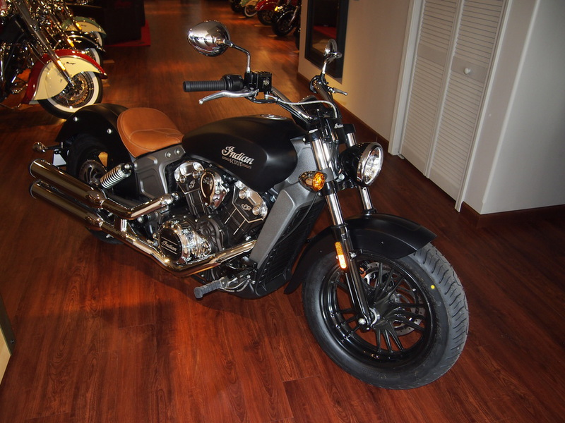 2015 Indian Scout Thunder Black Smoke, motorcycle listing