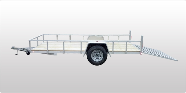 2015 Sport Haven Trailers Aluminum Standard 6x12, motorcycle listing