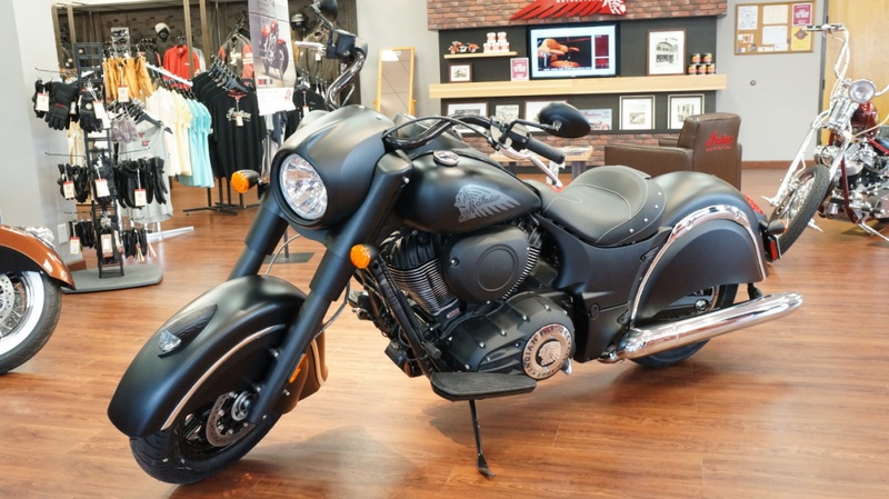 2016 Indian Chief Dark Horse, motorcycle listing