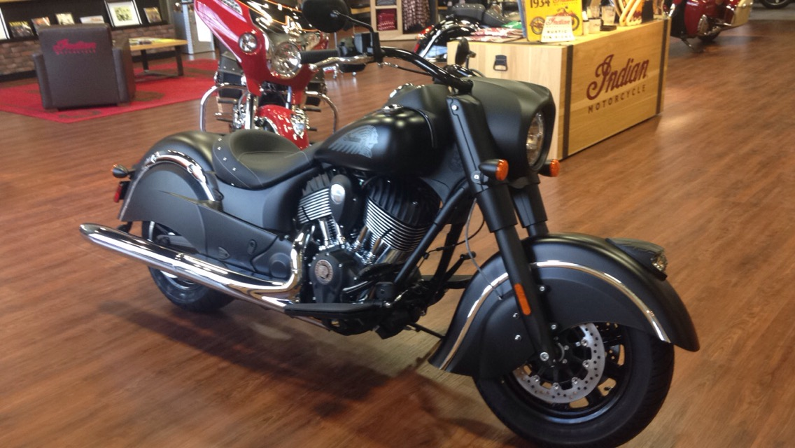 2016 Indian Indian Chief Dark Horse, motorcycle listing