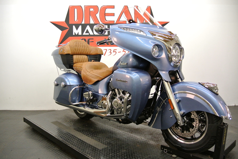2016 Indian Roadmaster Blue Diamond, motorcycle listing
