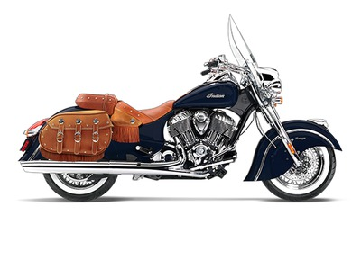 2014 Indian Chief Vintage Springfield Blue, motorcycle listing