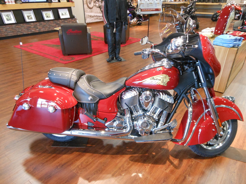 2014 Indian Chieftain Indian Motorcycle Red, motorcycle listing