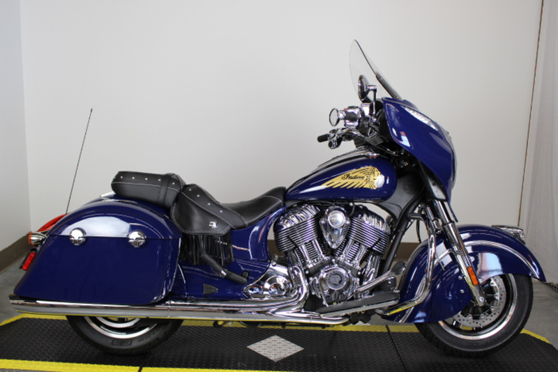 2014 Indian Chieftain Springfield Blue, motorcycle listing