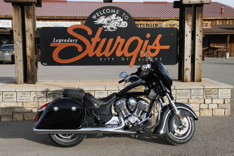 2015 Indian Chieftain Thunder Black, motorcycle listing