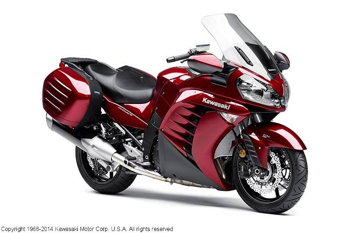 2014 Kawasaki Concours, motorcycle listing
