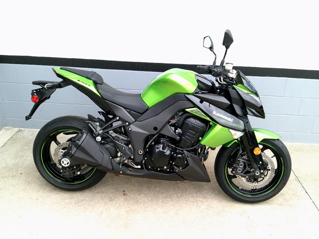 2011 Kawasaki Z1000 Motorcycle From Mount Vernon, OH,Today