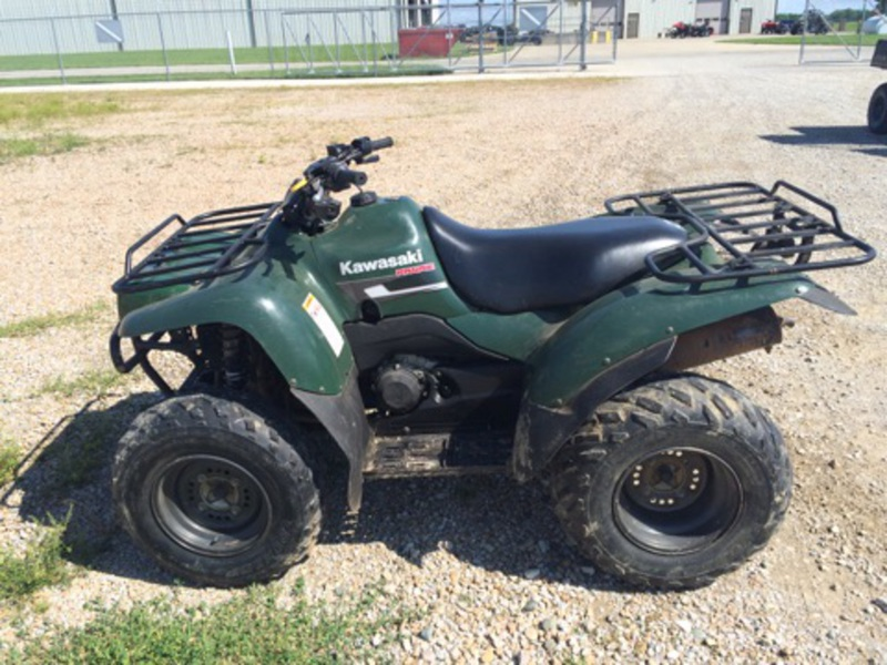 2007 Kawasaki Prairie 360 4x4 Motorcycle From Charleston, IL,Today ...