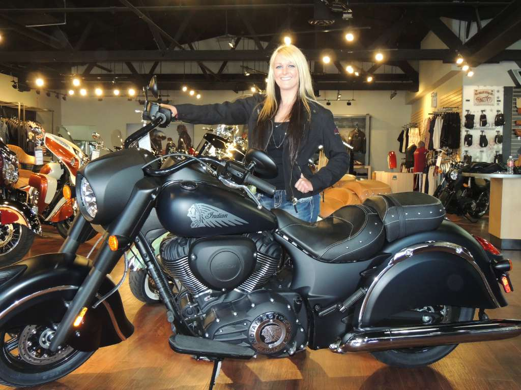 2016 indian chief dark horse motorcycle from hollister, ca,today
